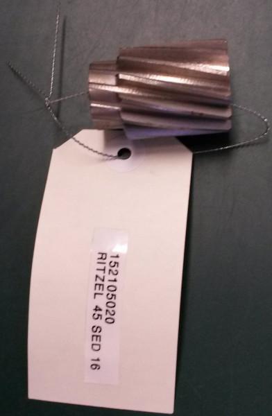 Ritzel Kesselantrieb SED