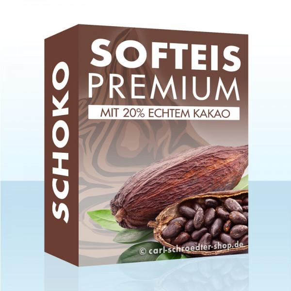 Softeis Schoko Premium